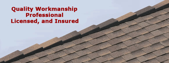 Quality Workmanship, Professional, Licensed, and Insured